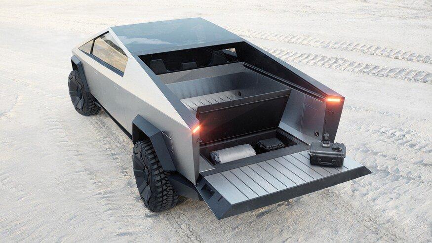 Đánh giá chi tiết xe Cybertruck chống đạn của tesla mới ra mắt