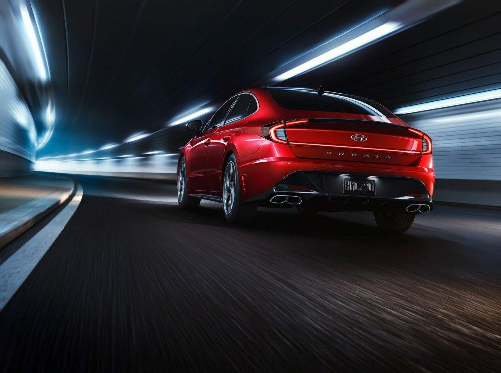 Hyundai Sonata N Line 2021 ra mắt đậm chất thể thao