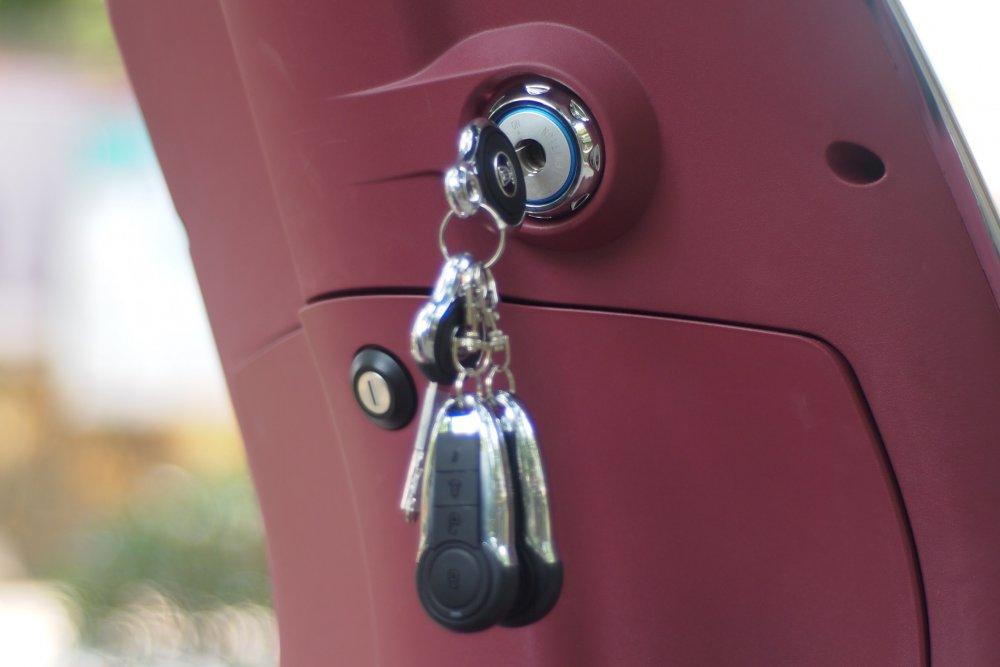 Sự tiện ích của chìa khóa thông minh trên xe máy