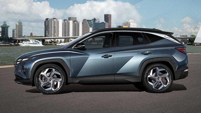 Xe Hyundai Tucson 2021 hé lộ diện mạo đột phá