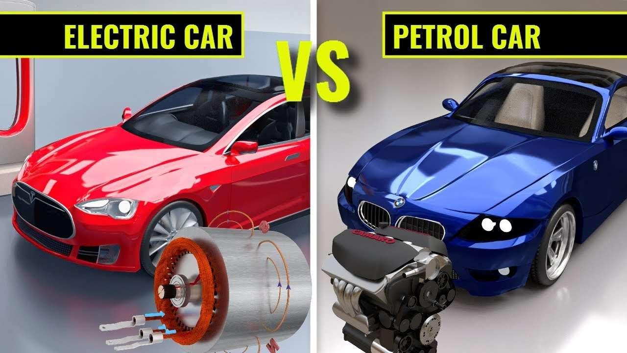 So sánh xe ôtô điện và xe xăng