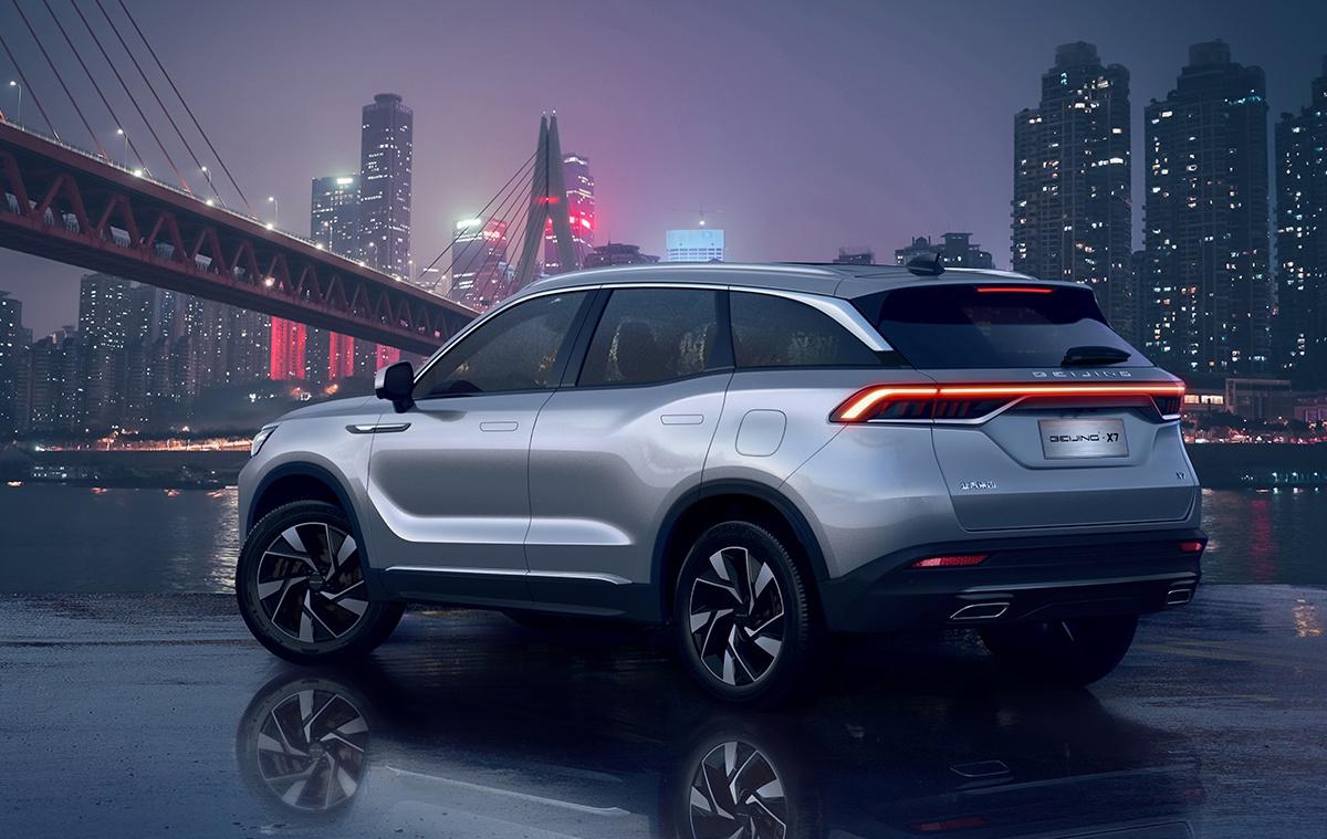 Đánh giá chi tiết xe Beijing X7
